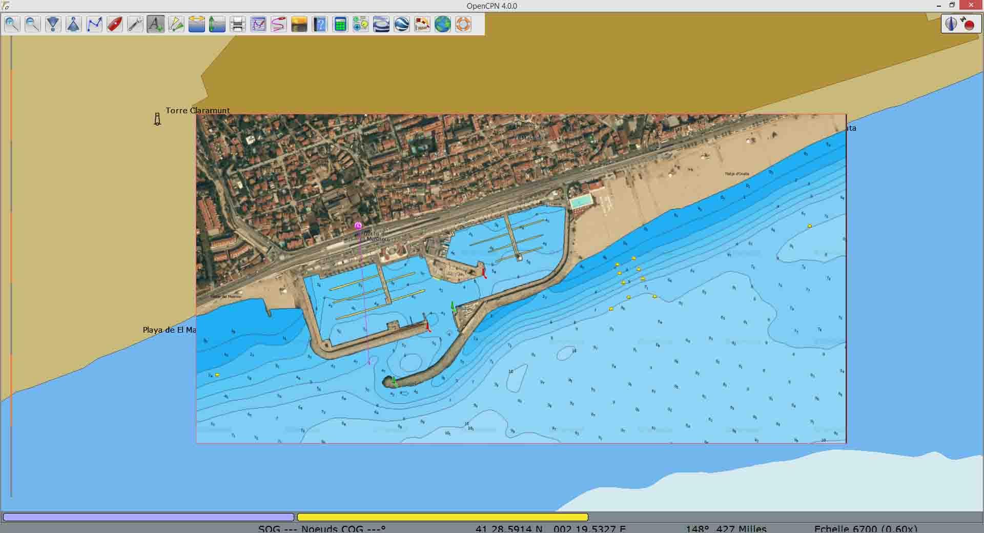 La cartographie de ponton